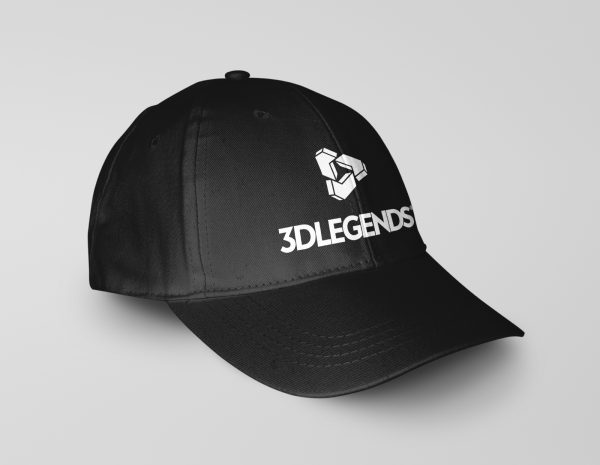 3DLEGENDS® cap black