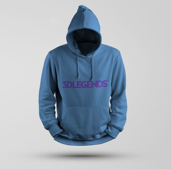 3DLEGENDS® sweatshirt blue with purple