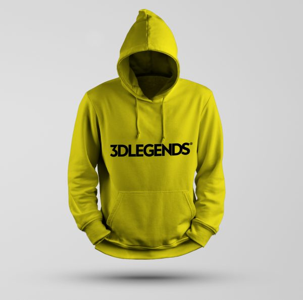3DLEGENDS® sweatshirt yellow